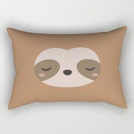 Kawaii Cute Sloth Rectangular Pillow