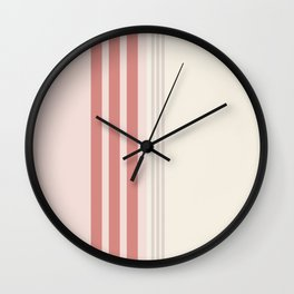 Minimal Abstract Cozy Cottage 05 Wall Clock