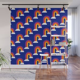 Rainbow Skies Wall Mural