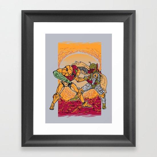 Bounty Hunting Framed Art Print