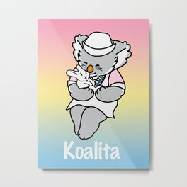 Koalita Pet Hospital Metal Print