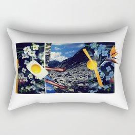 Wind pollination | Collage Rectangular Pillow