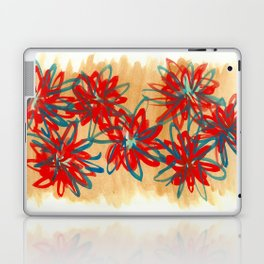Painted Flowers Laptop & iPad Skin