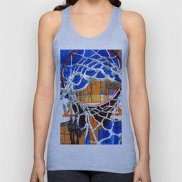 Basketball artwork 199 Unisex Tank Top