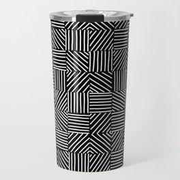 Sketching Abstraction Travel Mug