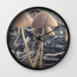 Mush Room Wall Clock
