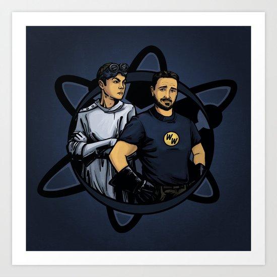 Dr. Cooper's Revenge Art Print