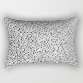 water drops on the glass Rectangular Pillow