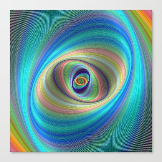 Hypnotic eye Canvas Print