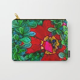 Shy Tulip Hiding Carry-All Pouch