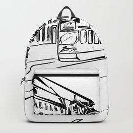 Amsterdam street Backpack