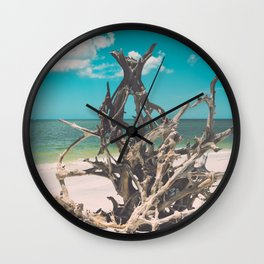 Dead Tree at Lovers Key Wall Clock