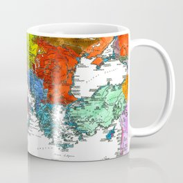 The Peoples of Europe According to Ptolemy Coffee Mug
