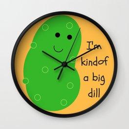 Big Dill Wall Clock