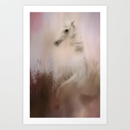 Wild Winter Day Art Print