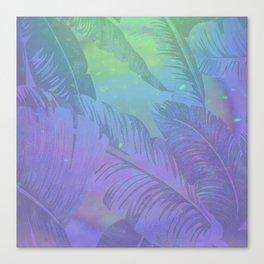 Rainbow in Palms Canvas Print