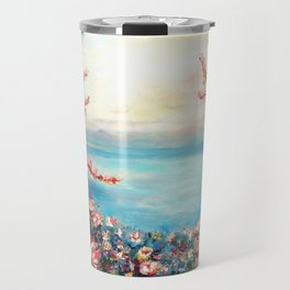 Magnolias - Geneva-Leman lake swiss Travel Mug