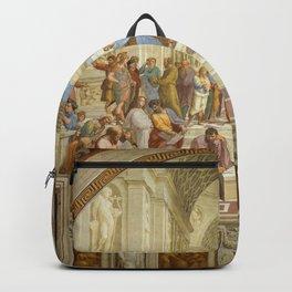 THE SCHOOL OF ATHENS--- RAFFAELLO SANZIO Backpack