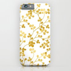 Golden Vines #society6 #decor #buyart iPhone 6s Slim Case