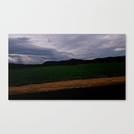 Seven Sisters by the Farm Canvas Print
