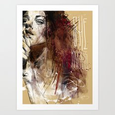 about women Art Print