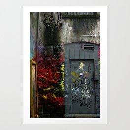 Inner City Alley Art Print