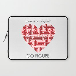 Love is a Labyrinth Laptop Sleeve