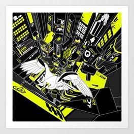 Horus Rising Art Print