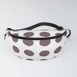 Big Polka Dots in Berry Fanny Pack