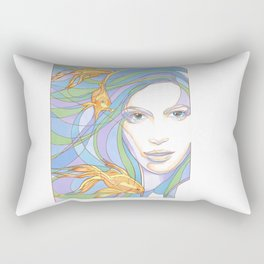 Mermaids are Dreaming Rectangular Pillow