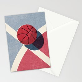 BALLS / Basketball (Outdoor) Stationery Cards