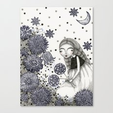 Summer's Night Canvas Print