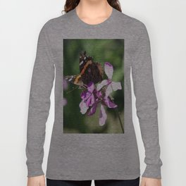 Butterfly and Phlox Long Sleeve T-shirt
