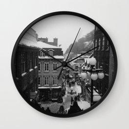 Petit Champlain Wall Clock