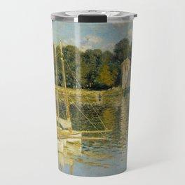 Claude Monet  -  Le Pont Dargenteuil Travel Mug