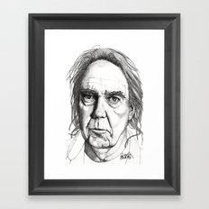 Neil Young Framed Art Print
