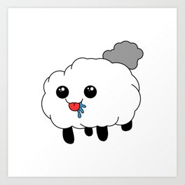 Sheep the Bleep Art Print