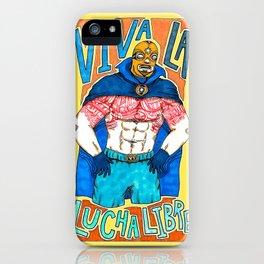 ¡Viva La Lucha Libre! iPhone Case