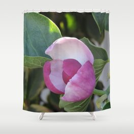 A Fig Prefigured Shower Curtain