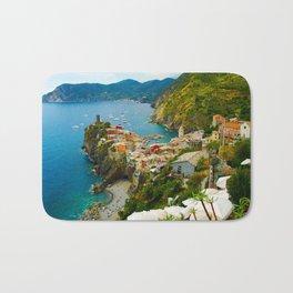 Vernazza Italy - Italian Riviera Bath Mat