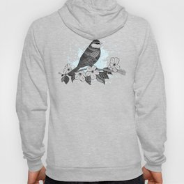 Bird and cherry blossoms Hoody