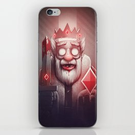 King of Doom iPhone Skin