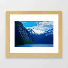 HURTIGRUTEN Framed Art Print