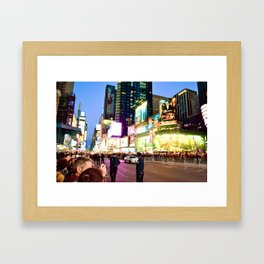 Glowing Ambitions Framed Art Print