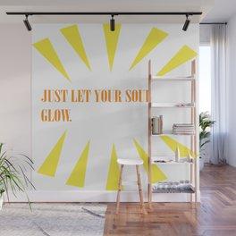 Soul Glow Wall Mural