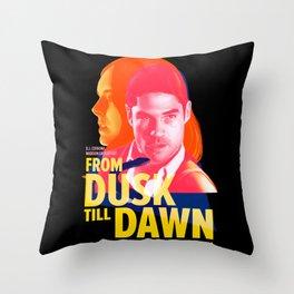 From Dusk Till Dawn II - Seth & Kate Throw Pillow