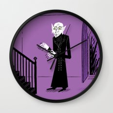 The Halloween Series - Nosferatu Wall Clock