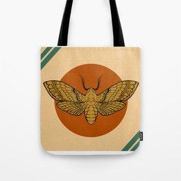 Vintage Death Head Moth Tote Bag