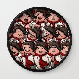 Teruteru Hanamura Wall Clock