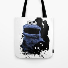 Monster Madness: Cookie Monster Tote Bag